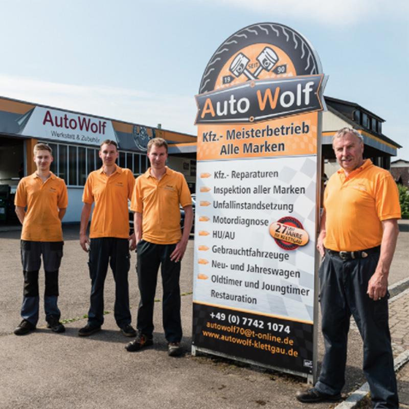 Auto Wolf Klettgau - Team